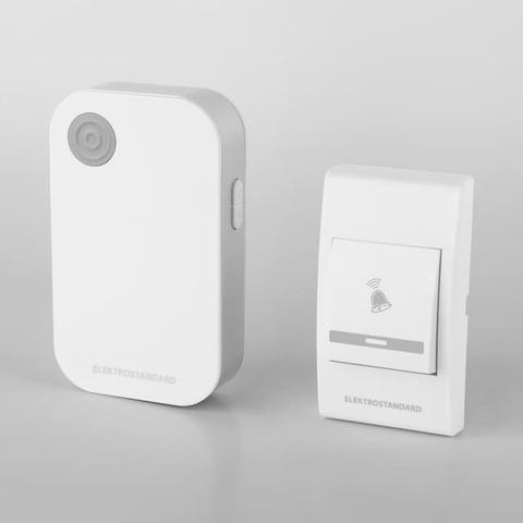 Звонок беспроводной. Цвет Белый. Elektrostandard. DBQ22M WL 36M IP40. a044635