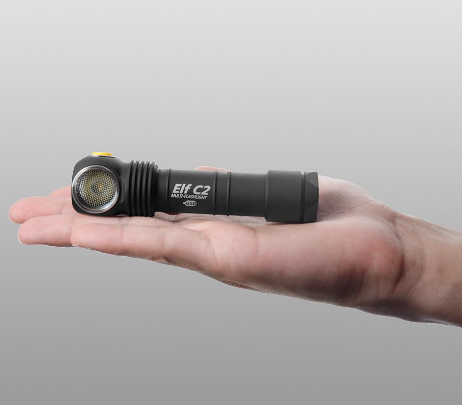 Мультифонарь Armytek Elf C2 Micro-USB (тёплый свет) - фото 3