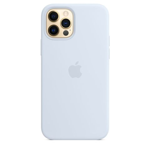 Чехол iPhone 12 Pro Max Silicone Case with MagSafe /cloud blue/