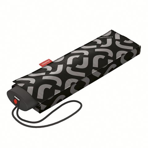 Зонт механический Pocket mini signature black