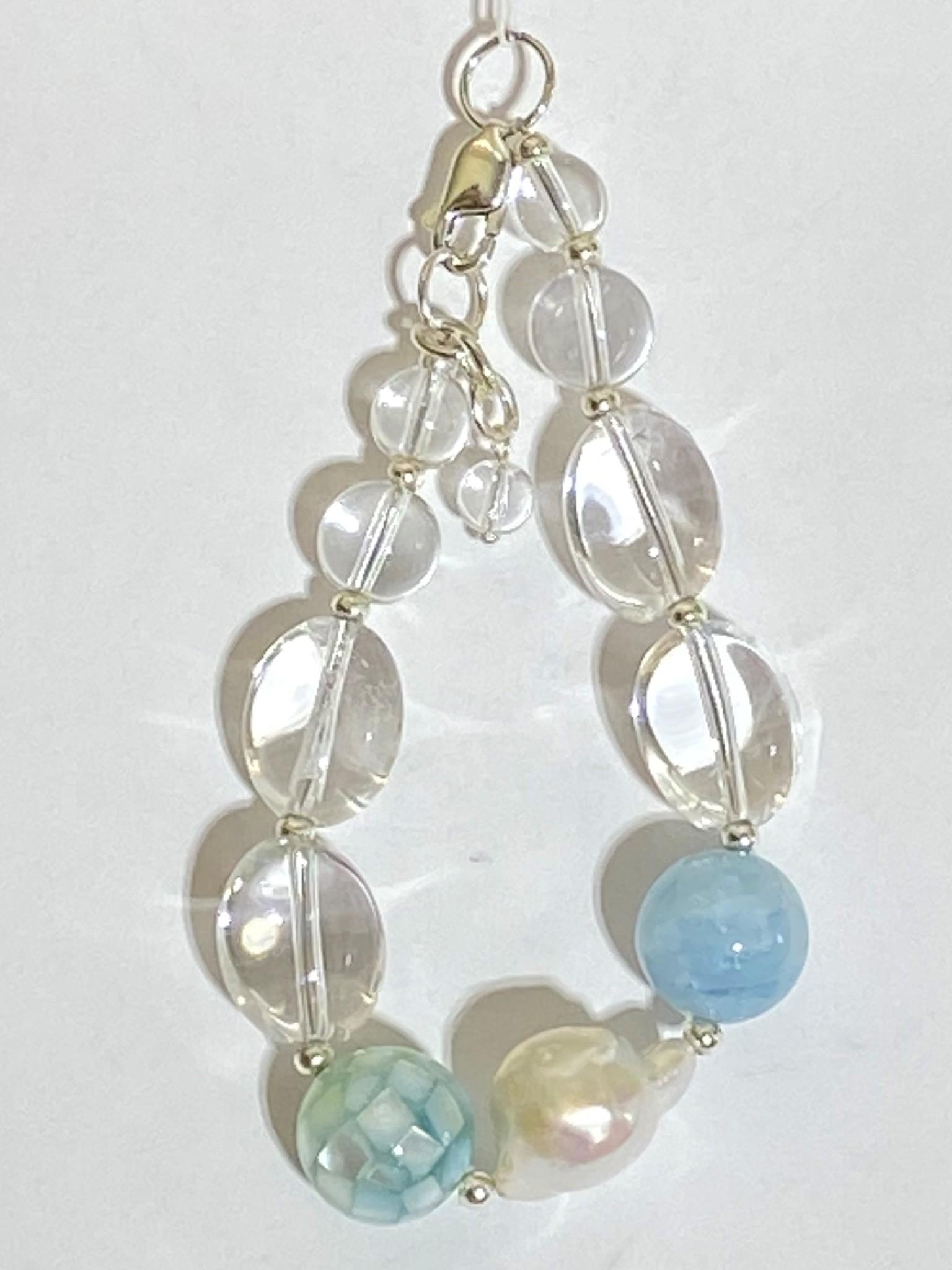 810- хрусталь (браслет из натуральных камней)