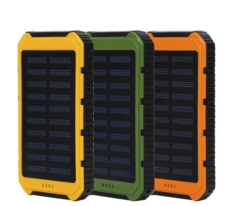 POWER BANK НА СОЛНЕЧНЫХ БАТАРЕЯХ SOLAR POWER BOX 25000 MAH