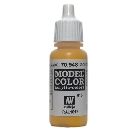 Model Color Golden Yellow 17 ml.