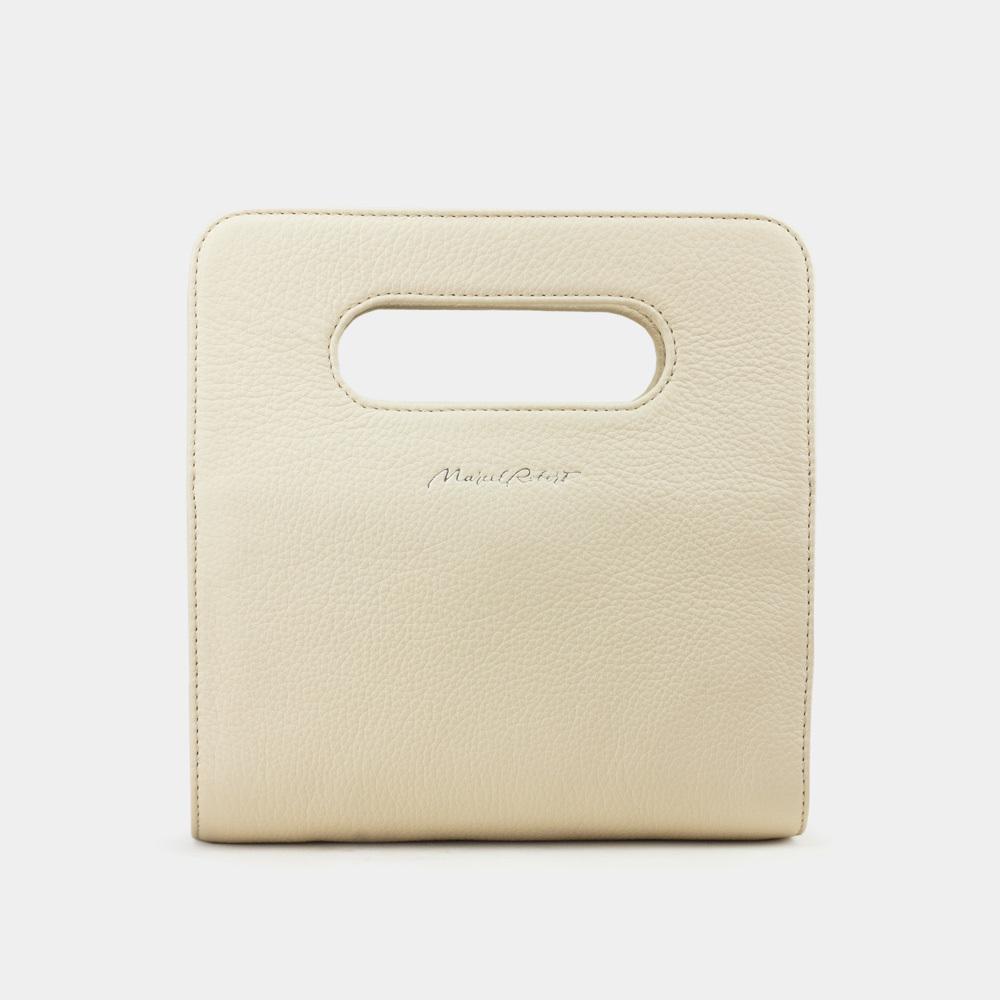 Женская сумка Camille Easy из натуральной кожи теленка, молочного цвета
