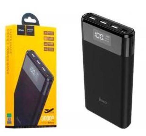Внешний аккумулятор HOCO B35E 30000mAh 2.0A 3USB/Type-C черный (1/30)