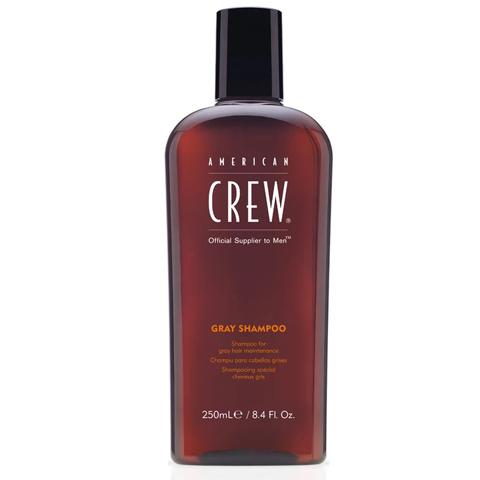 American Crew Classic: Шампунь для седых волос у мужчин (Gray Shampoo), 250мл