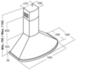 Вытяжка Kuppersberg BONA 60 C Bronze - схема