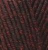 Пряжа Alize SUPERLANA MAXI 811  (Темно-бордовый жаспе)