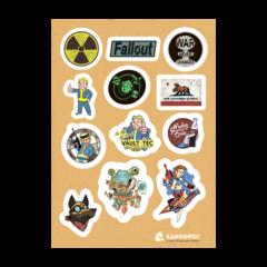 Набор стикеров Fallout