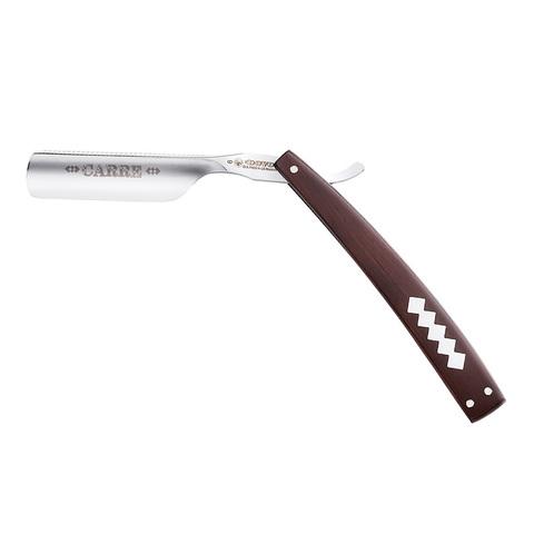 Бритва опасная Dovo  (66810) ручка - дерево гренадилла с перламутровой вставкой 6/8 дюйма