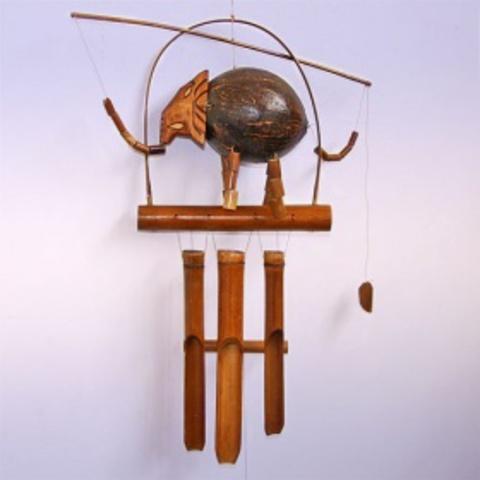 Музыка ветра, бамбук Слон