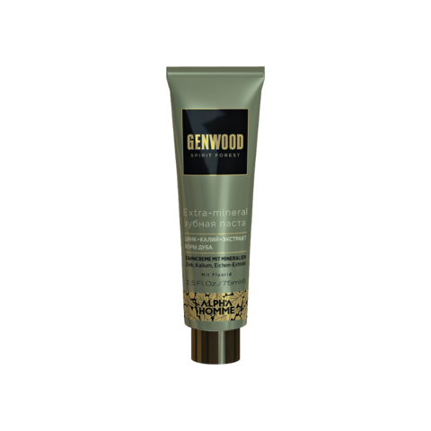 Extra-mineral зубная паста Genwood, 75 мл