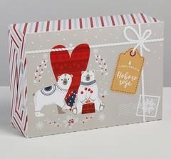 Коробка складная «Волшебного Нового года», 16 × 23 × 7.5 см, 1 шт.