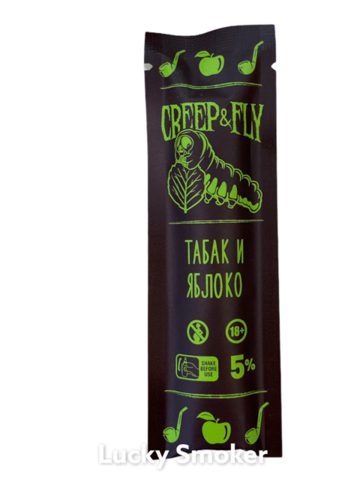 Creep & Fly (300 затяжек) Табак и Яблоко