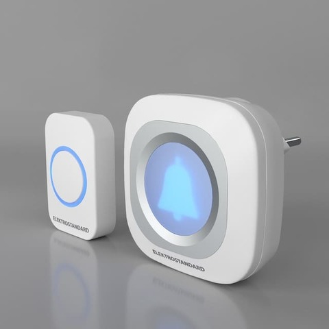 Звонок беспроводной. Цвет Белый. Elektrostandard. DBQ25M WL. a047175