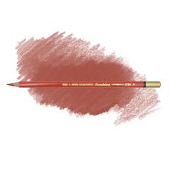 Карандаш художественный акварельный MONDELUZ, цвет 06 киноварь