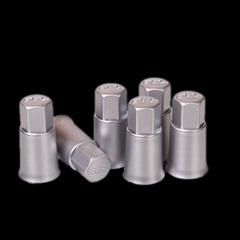 Колпачок вентиля воздушного резинового BBS silver