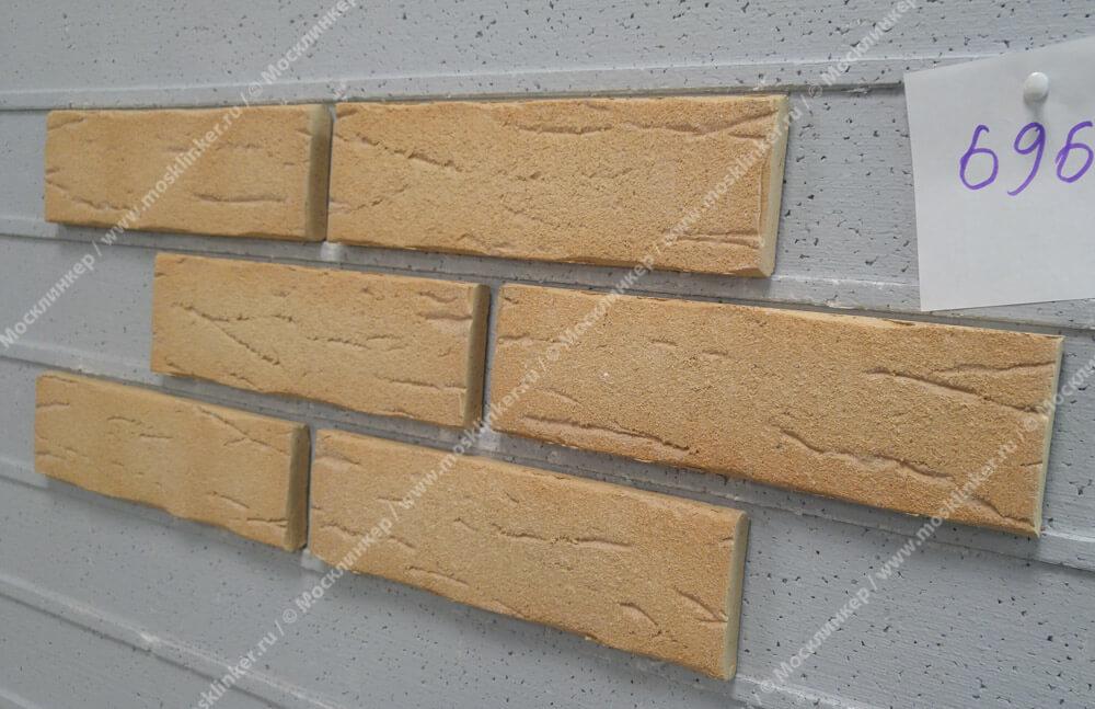 Feldhaus Klinker - R696NF14, Sintra Crema Duna, 240x14x71 - Клинкерная плитка для фасада и внутренней отделки