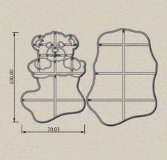 Мишка в носке