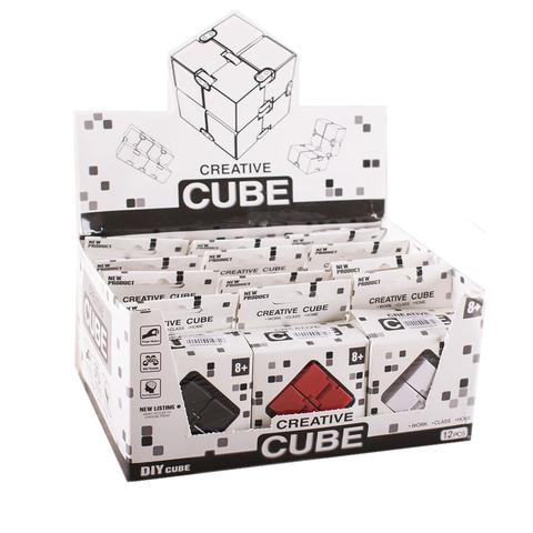 Куб креатив в кор.12 шт/упак (7.5*4*11)