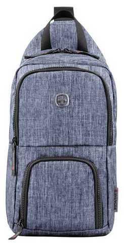 Картинка рюкзак однолямочный Wenger  синий - 1