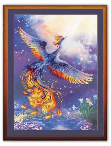 Набор для вышивания крестом «Птица счастья» (0034 РТ)
