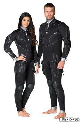 Гидрокостюм полусухой Waterproof SD Combat 7мм мужской