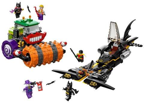 LEGO Super Heroes: Паровой каток Джокера 76013 — Batman: The Joker Steam Roller — Лего Супергерои ДиСи