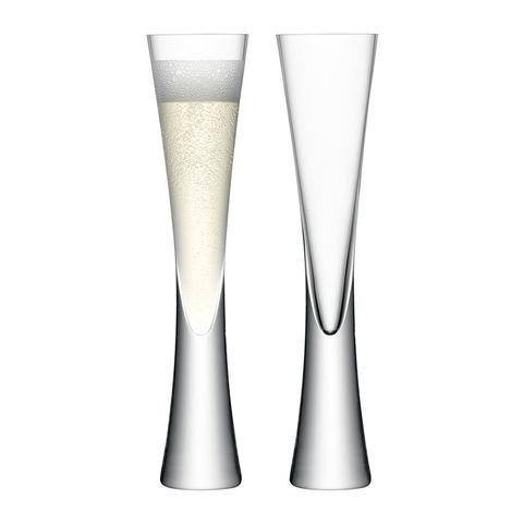 Набор из 2 бокалов-флейт Moya 170 мл прозрачный
