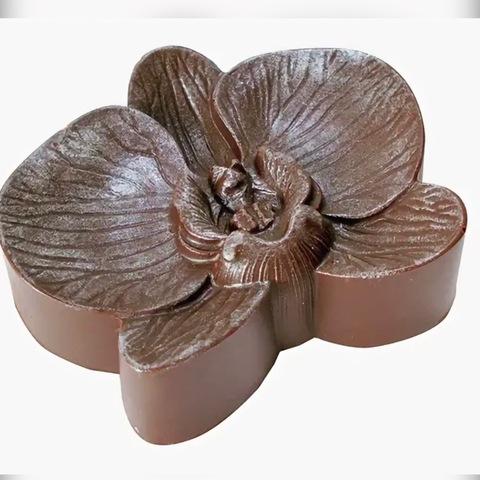 Пластиковая форма для шоколада жен. ЦВЕТОК ОРХИДЕЯ (85х70мм)