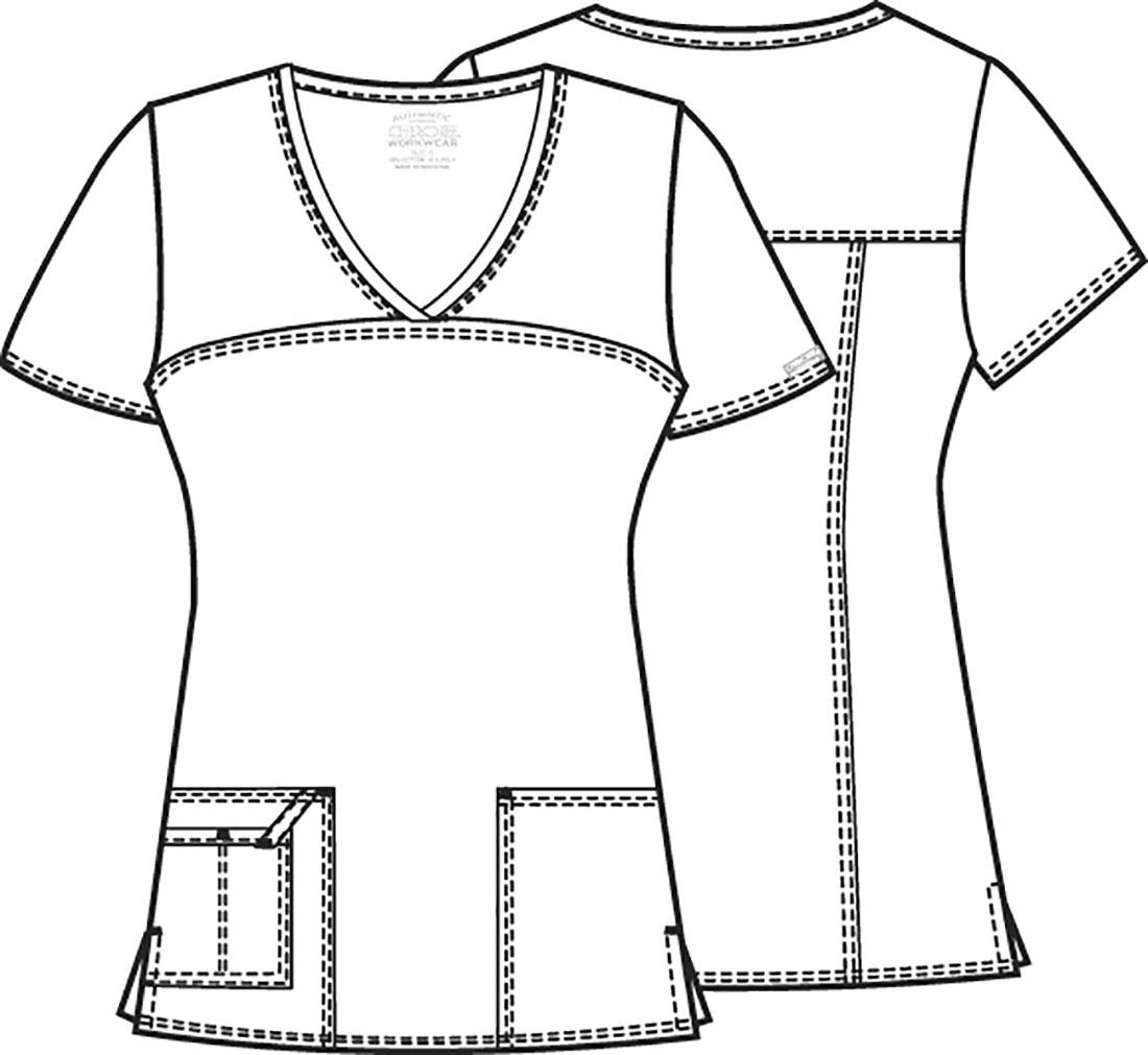 Топ женский Cherokee Workwear