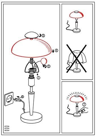 Настольная лампа Eglo SOLO 1 87254 3