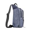 Картинка рюкзак однолямочный Wenger  синий - 3