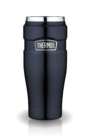 Термокружка Thermos King SK1005 (0,5 литра), темно-синяя