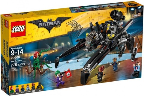 LEGO Batman Movie: Скатлер 70908 — The Scuttler — Лего Бэтмен Муви