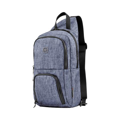 Картинка рюкзак однолямочный Wenger  синий - 4