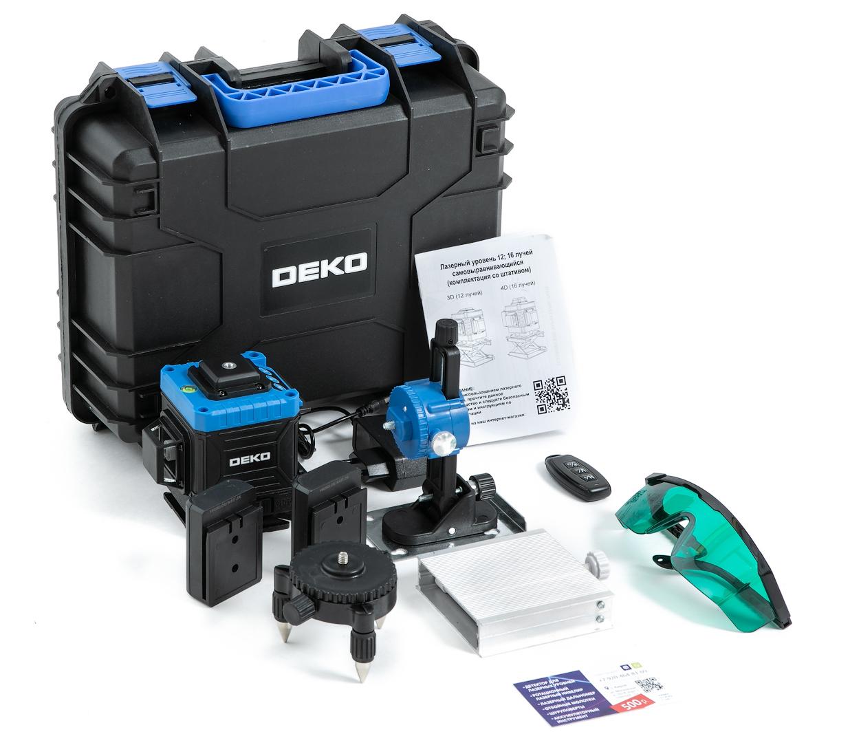 Лазерные уровни DEKO Лазерный уровень 360 DEKO K20 12 зеленых лучей(нижний горизонт) 30.jpg