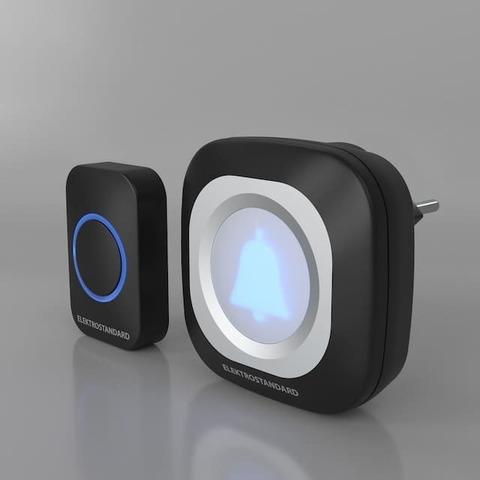 Звонок беспроводной. Цвет Чёрный. Elektrostandard. DBQ25M WL. a047174