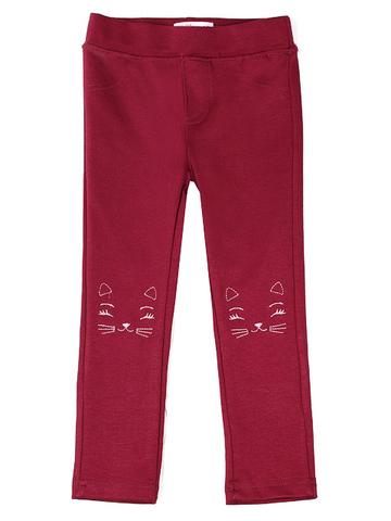 GPT005338 Брюки для девочек, красные