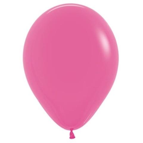 Шар Темно-розовый, Фуксия, 30 см