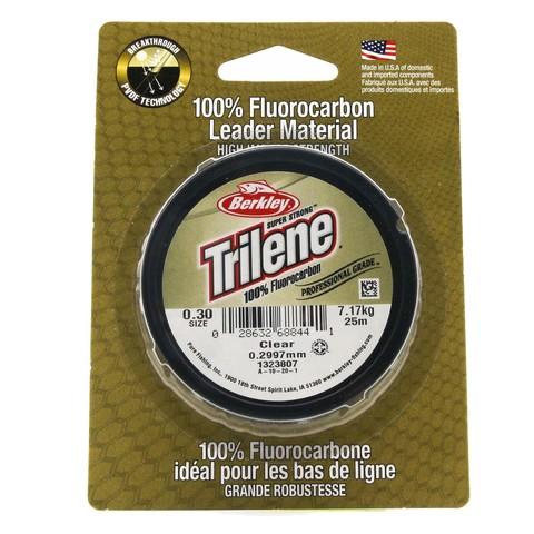 Леска флюорокарбоновая Berkley Trilene Fluorocarbon Leader 0,30 25M Clear