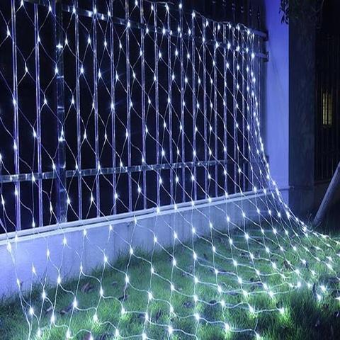 Гирлянда сетка LED Размер 200*200 Белая