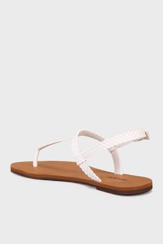 Женские белые сандалии Anacapri