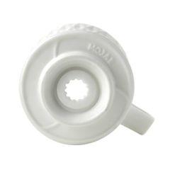 Основание белой воронки для кофе Mojae | Easy-cup.ru
