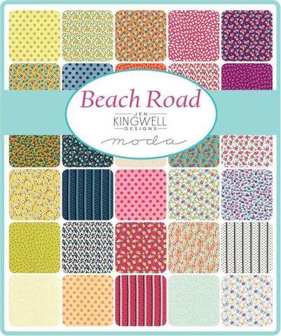 Набор ткани Jelly Roll. Beach Road от Moda