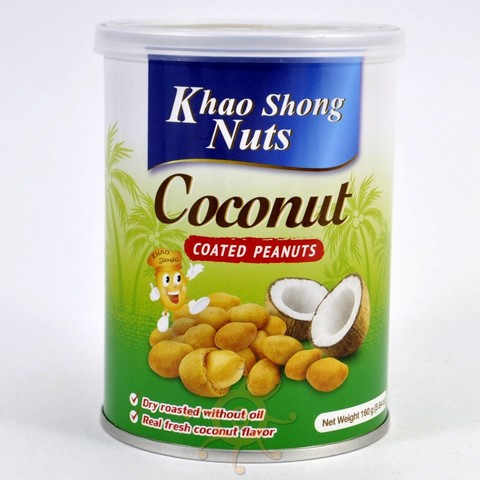 Арахис в кокосовой оболочке Khao Shong, 160г