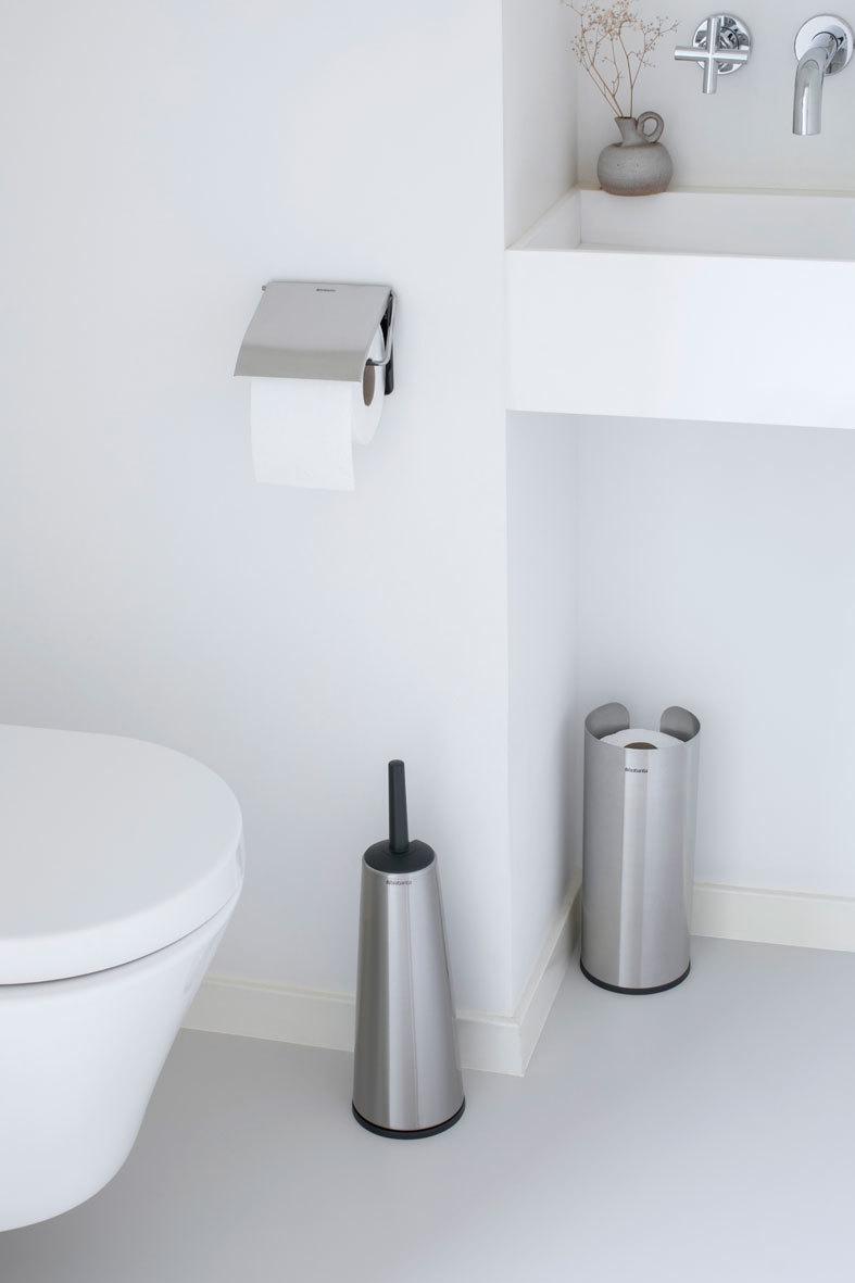 Набор аксессуаров для туалетной комнаты ReNew, 3 пр., Стальной матовый, арт. 280665 - фото 1