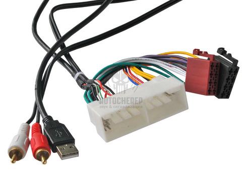 ISO- разъем Incar ISO HY-04A (AUX+USB) (Hyundai, KIA 2016+)