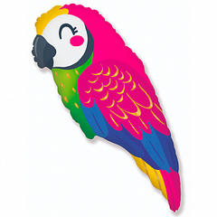 F Фигура, Попугай (новый дизайн), 35″/43*89 см, 1 шт.
