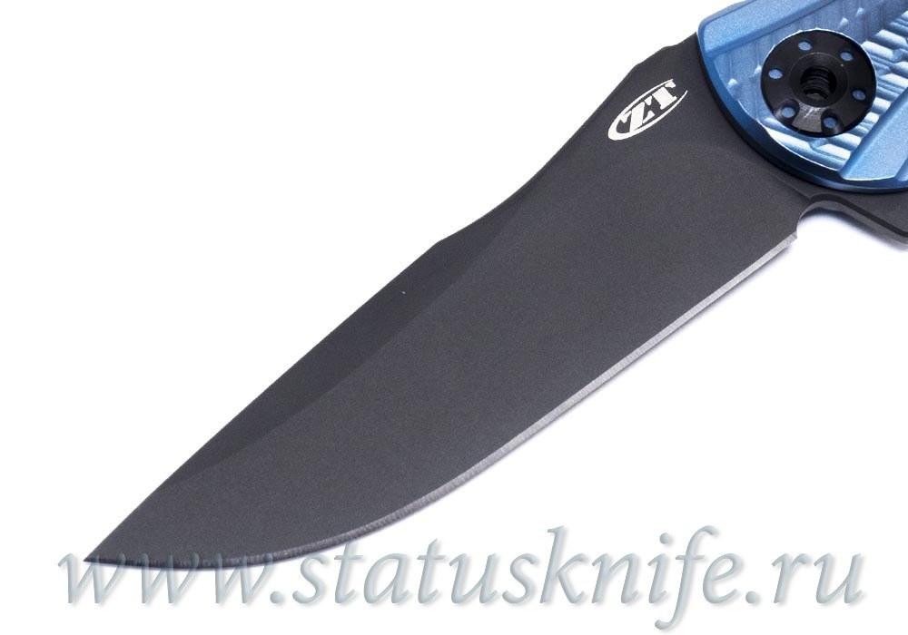 Нож Zero Tolerance 0609BLUBLK RJ Martin ZT0609BLUBLK - фотография
